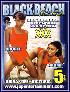Afro Hotties - Black Beach Bitches Porn DVD