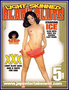 Afro Hotties - Light Skinned Black Sluts Porn DVD