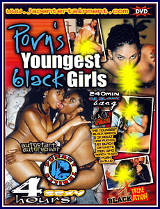 Punany Thrills - Porn's Youngest Black Girls Porn DVD