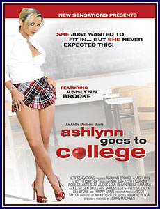 Ashlynn Goes To College Porn DVD