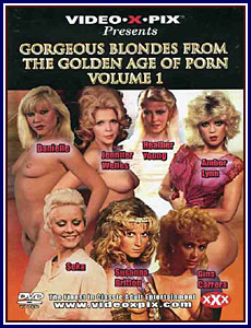 Gorgeous Blondes From The Golden Age Of Porn Porn DVD