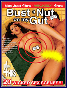 Bust a Nut on My Gut Porn DVD