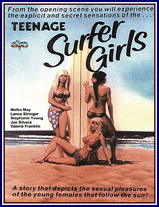 Teenage Surfer Girls Porn DVD
