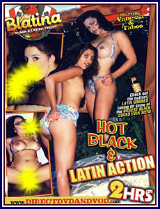 Blatina - Hot Black And Latin Action Porn DVD
