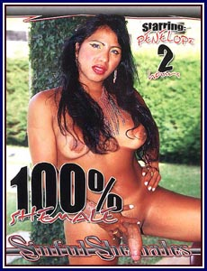 100% Shemale Porn DVD