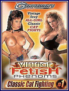 Classic Cat Fighting Porn DVD