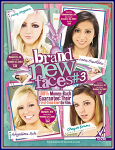 Brand New Faces 3 Porn DVD
