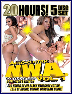 20 Hours of No White Ass Porn DVD