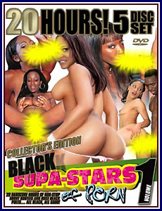 20 Hours of Black Supa Stars of Porn Porn DVD