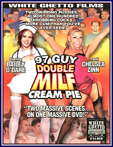 97 Guy Double MILF Cream Pie Porn DVD