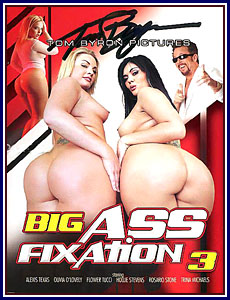 Big Ass Fixation 3 Porn DVD