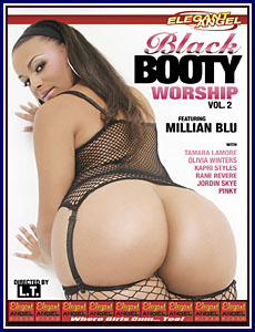Black Booty Worship 2 Porn DVD