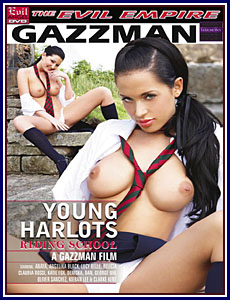 Young Harlots Riding School Porn DVD