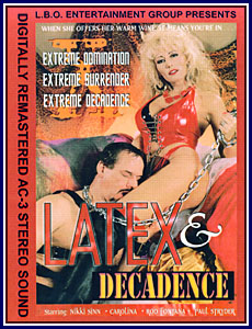 Latex And Decadence Porn DVD