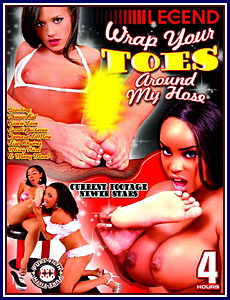 Wrap Your Toes Around My Hose Porn DVD