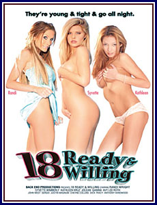 18 Ready and Willing Porn DVD