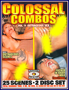 Colossal Combos 9 Porn DVD