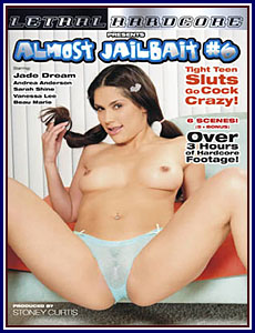 Almost Jailbait 6 Box Cover Art.