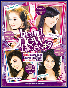 Brand New Faces 9 Porn DVD