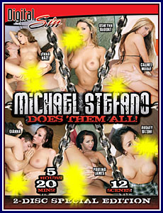 Michael Stefano Does Them All Porn DVD