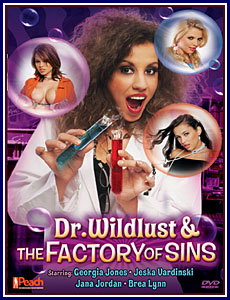 Dr Wildlust and Factory of Sins Porn DVD