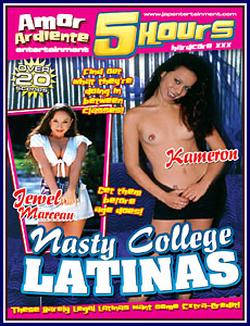 Amor Ardiente - Nasty College Latinas Porn DVD