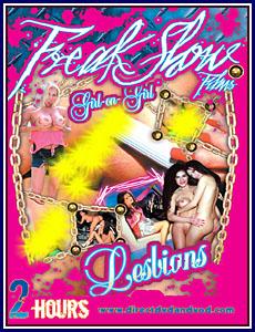 Freak Show - Girl On Girl Lesbians Porn DVD