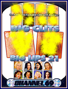 Big Clits Big Lips 21 Porn DVD
