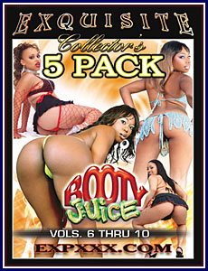 Booty Juice 5 Pack Vol 6-10 Porn DVD