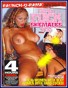 Girls Fuck Shemales Too Porn DVD