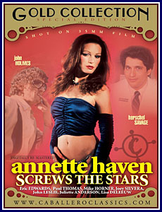 Annette Haven Screws The Stars Porn DVD