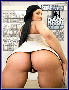 Back Room MILF Porn DVD