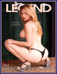 Grazi's Anal Crazy Porn DVD