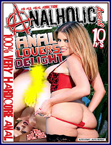 Analholic Angels - Anal Lovers Delight Porn DVD