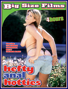 Big Size Films - Hefty Anal Hotties Porn DVD