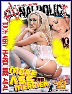 Analholic Angels - More Ass The Merrier Porn DVD