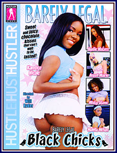 Barely Legal Black Chicks Porn DVD