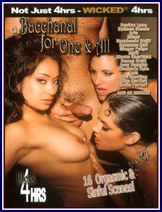 Bacchanal For One And All Porn DVD
