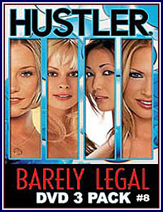 Barely Legal 3 Pack 8 Porn DVD