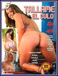 Tallame El Culo Porn DVD