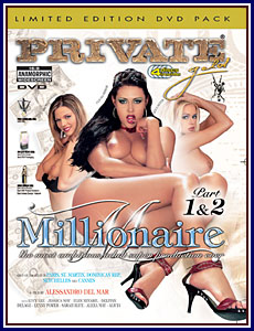 Private Gold Millionaire 1 and 2 Porn DVD