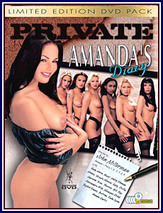 Amanda's Private Diary 5 Pack Porn DVD