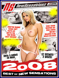 Best Of New Sensations 2008 Porn DVD