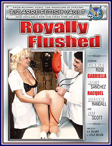 Royally Flushed Porn DVD