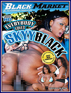 Everybody Loves Skyy Black Adult DVD