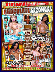 Chocolate Gazongas Volumes 1-04 Porn DVD