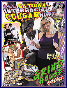 All National Interracial Cougar Hunt Porn DVD