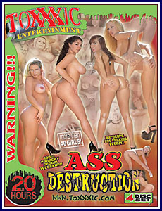 Ass Destruction 4 Pack Porn DVD