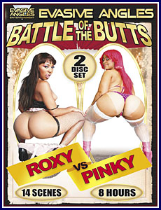 Battle of the Butts Roxy Vs Pinky Porn DVD