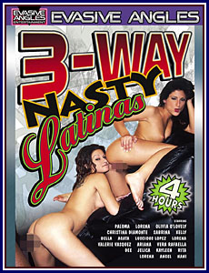 3-Way Nasty Latinas Porn DVD